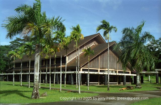 Building at national capital of the Federated States of Micronesia