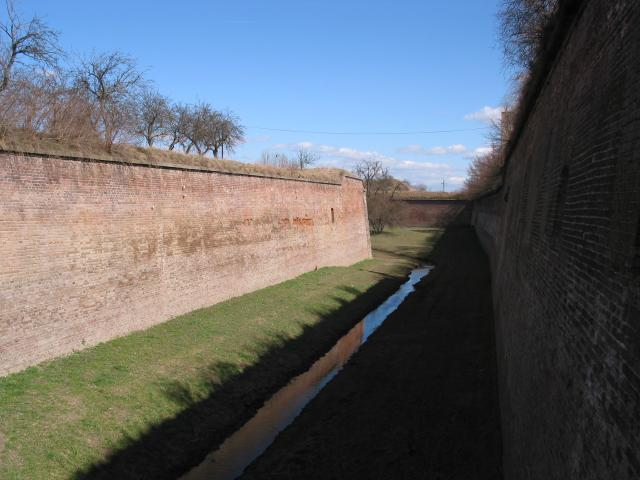 Small fortress walls