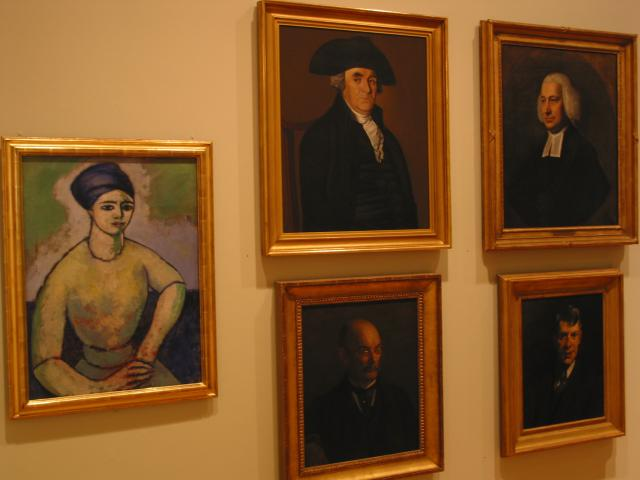 Portraits, new and old