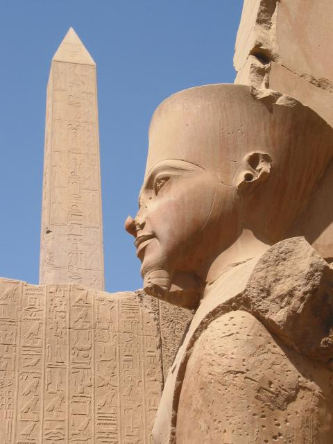 At the Temples of Karnak