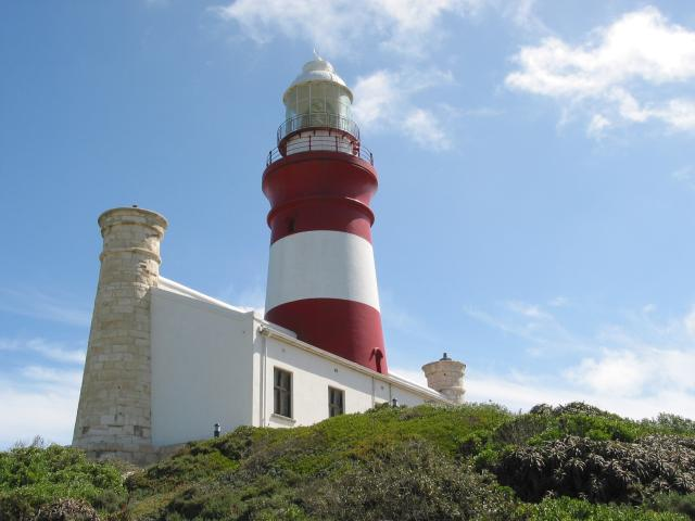 Lighthouse at L'Agulhas