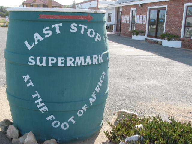 Southernmost supermarket in Africa