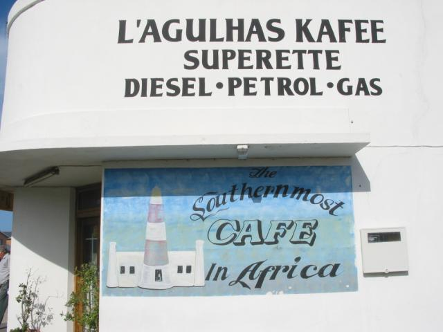 Southernmost cafe in Africa