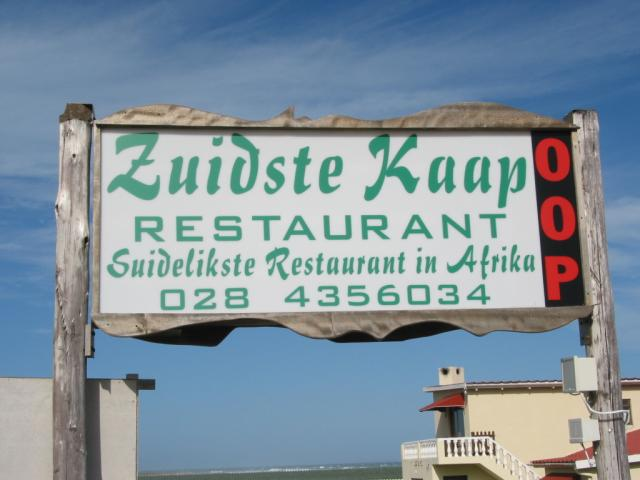 Southernmost restaurant in Africa
