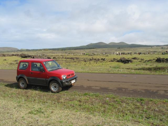 My 4WD vehicle along the south coast