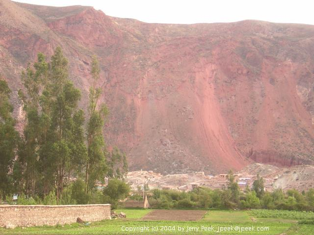 South side of the valley near Urubamba