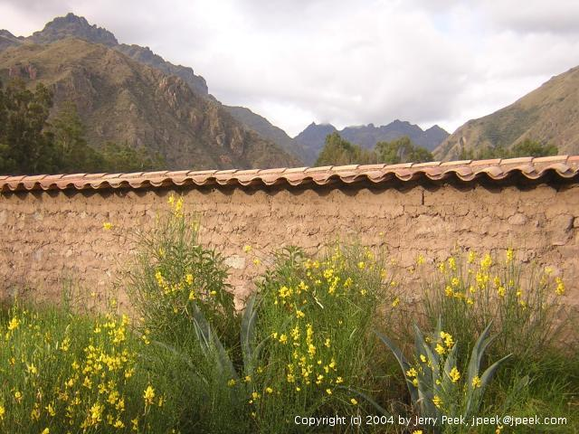 North side of the valley near Urubamba