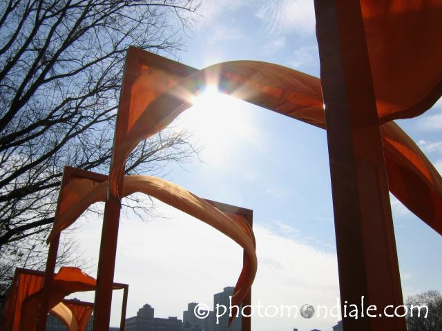 Gates in the Wind along Harlem Meer