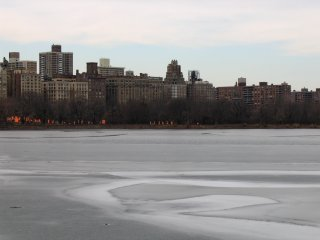 Jacqueline Kennedy Onassis Reservoir and west side of park